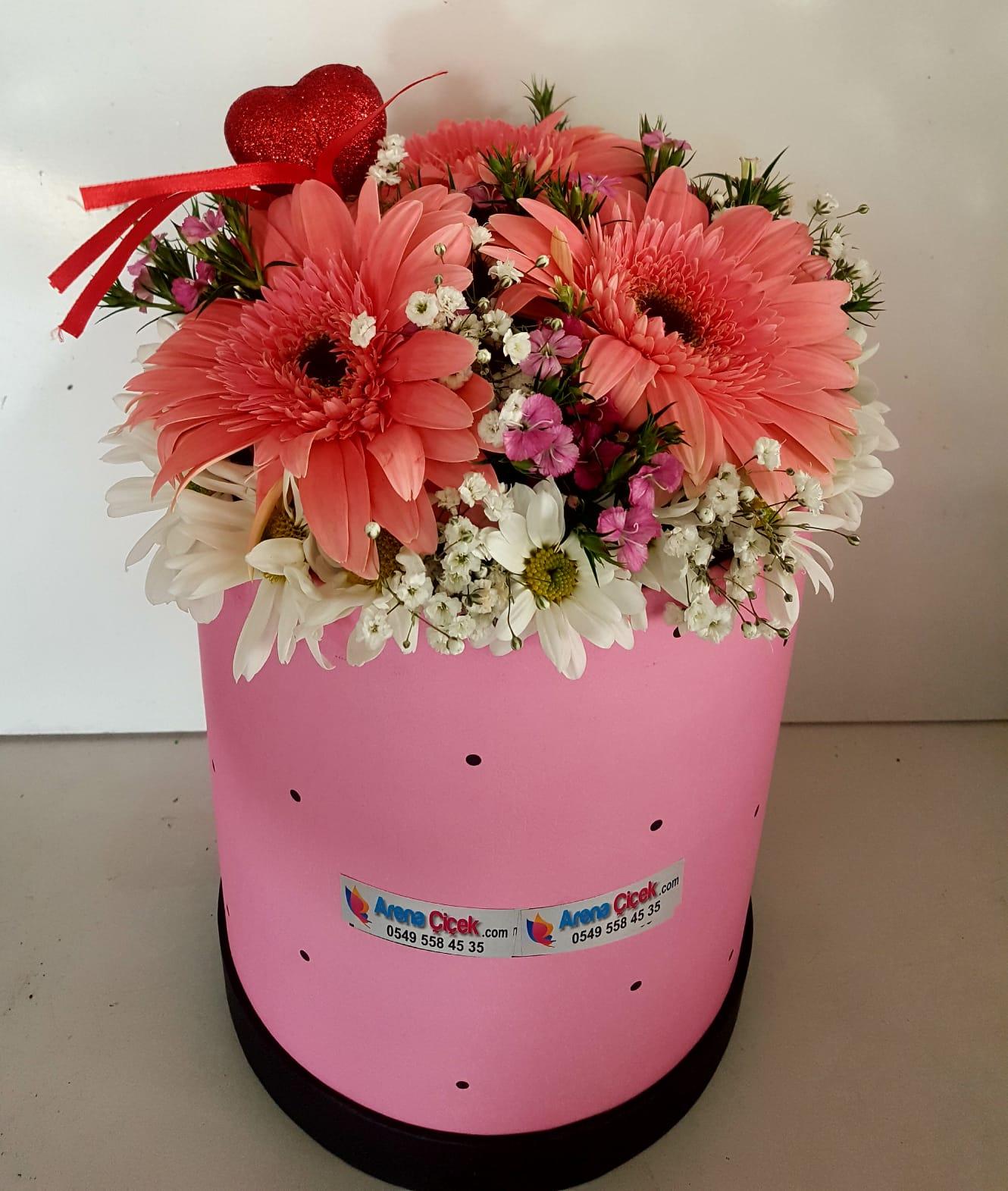 Pembe K.Kır Çiçekleri/ücretsiz teslimat